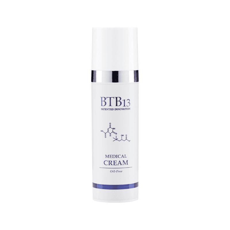 BTB13 Medical Cream - Tasapainottava ja Rauhoittava Öljytön Kosteusvoide Ongelmaiholle