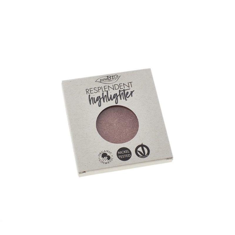 PuroBIO Resplendent Highlighter Shimmer Korostusväri 04 Refill-Täyttöpakkaus