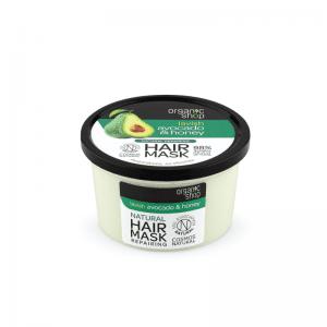 Organic Shop Avocado & Honey Ravitseva Hiusnaamio