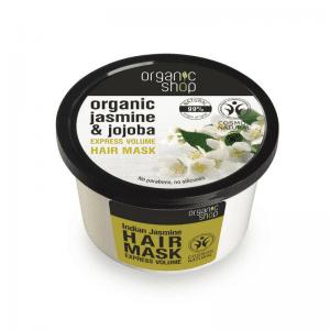 Organic Shop Indian Jasmine Tuuheuttava Hiusnaamio 250 ml