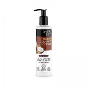Organic Shop Coconut & Shea Kosteuttava Hoitoaine