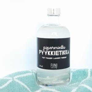 FIINI Piparminttu Pyykkietikka - Luonnollinen Huuhteluaine Pyykille