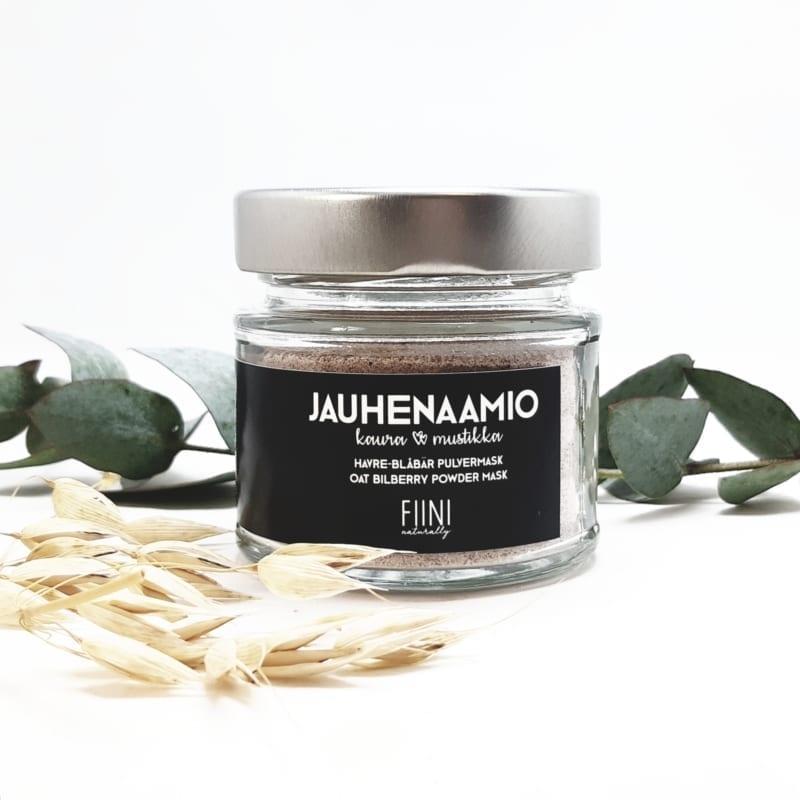 FIINI Naturally Kaura & Mustikka Jauhenaamio Kasvoille