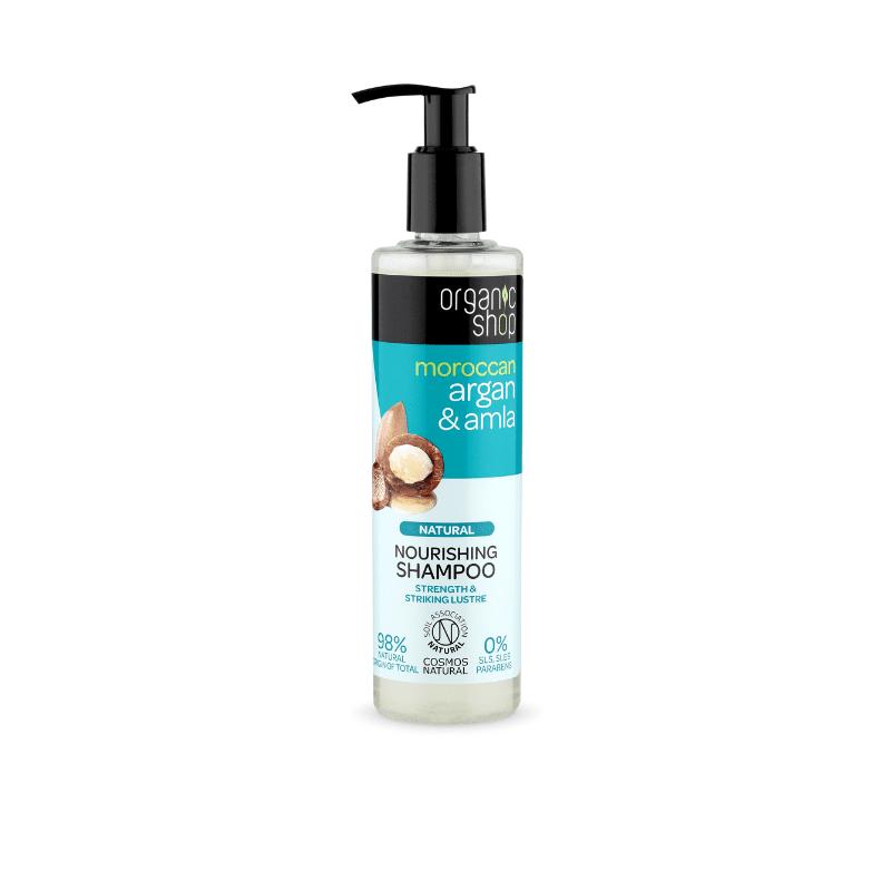 Organic Shop Argan & Amla Kosteuttava Shampoo