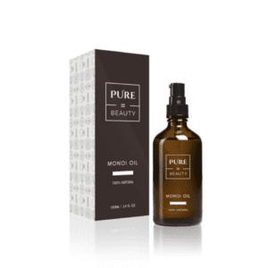 Pure=Beauty Monoi Oil - Sensuelli Luonnonöljy Iholle, Hiuksille ja Hierontaan