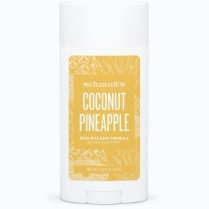 Schmidt's Sensitive Deodorantti Coconut & Pineapple Stick 92g, Soodaton