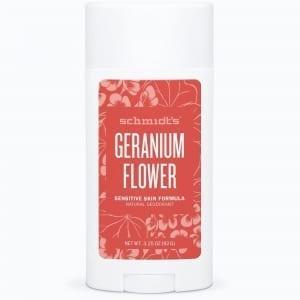 Schmidt's Sensitive Deodorantti Geranium Stick 92g, Soodaton