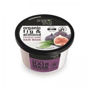 Organic Shop Silk Nectar Kiiltoa Antava Hiusnaamio