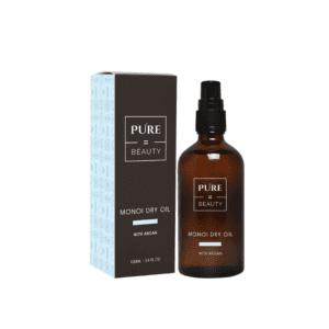 Pure=Beauty Monoi Dry Oil + Argan - Sensuelli Kuivaöljy Vartalolle ja Hiuksille