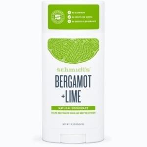 Schmidt's Deodorantti Bergamot & Lime Stick 75g