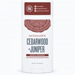 Schmidt's Deodorantti Cedarwood & Juniper Stick 92g