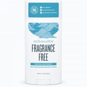 Schmidt's Deodorantti Fragrance Free Stick 92g, Hajusteeton