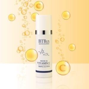 BTB13 Medical Vitamin C Triple Active C-Vitamiinivoide - Kirkastava ja Heleyttävä Kosteusvoide