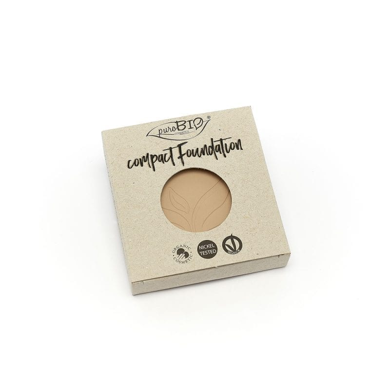 PuroBIO Compact Foundation Meikkipuuteri Refill-Täyttöpakkaus