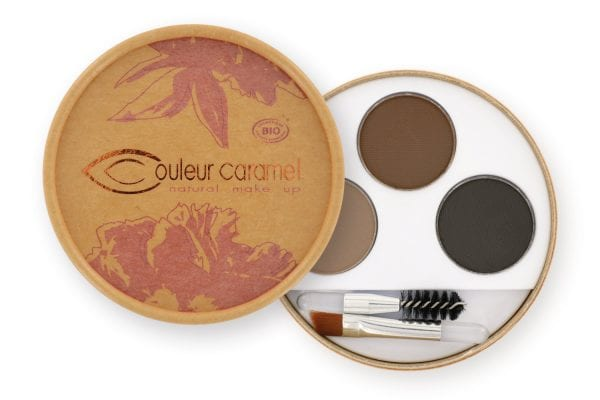 Couleur Caramel Eyebrow Kit n°928 Dark - Kulmapaletti Tummille Kulmille