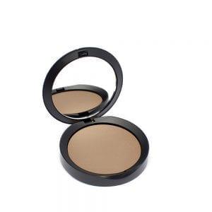 PuroBIO Resplendent Compact Bronzer Aurinkopuuteri 02 - Pähkinänruskea keskitummalle ja tummalle iholle