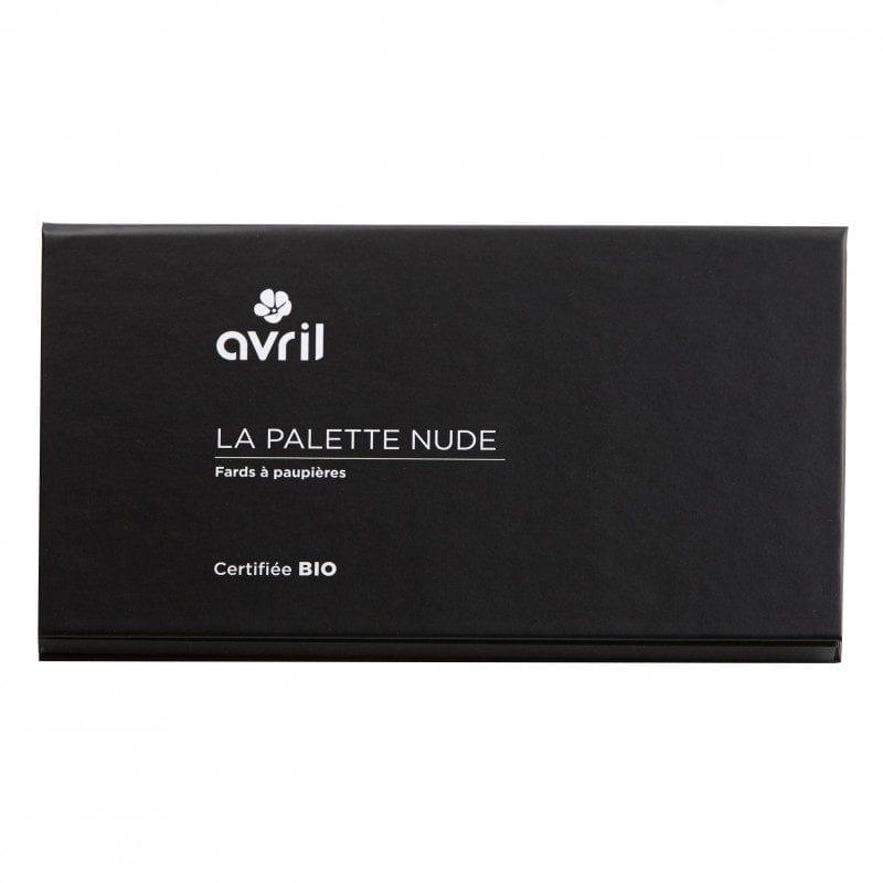 AVRIL Organic Nude Luomiväripaletti