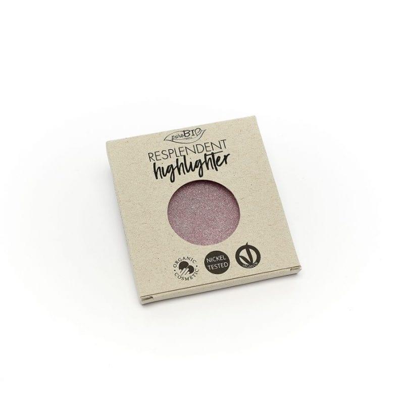 PuroBIO Resplendent Highlighter Shimmer Korostusväri 02 Refill-Täyttöpakkaus